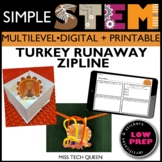Thanksgiving STEM Challenge Turkey Runaway