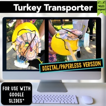 Thanksgiving STEM Challenge Turkey Transporter 1:1 PAPERLESS
