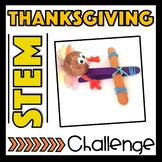 Thanksgiving STEM Challenge and Turkey Craft