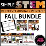 Thanksgiving STEM Challenges - 5 November Activities