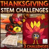 Thanksgiving STEM Challenges - November STEM