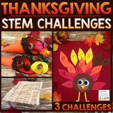 Thanksgiving STEM Challenges - November STEM