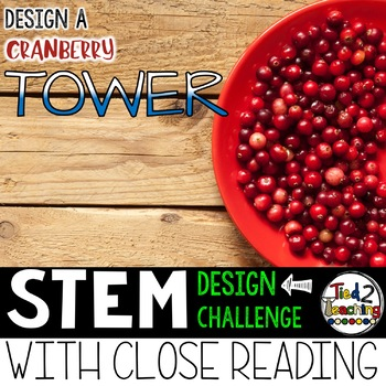 Thanksgiving STEM Cranberry Tower Challenge