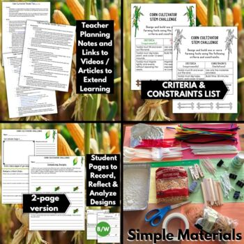 Thanksgiving STEM Challenge: Corn Cultivator