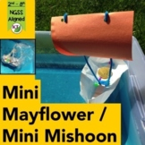 Mini Mayflower and Mini Mishoon Thanksgiving STEM Challenge