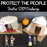 Thanksgiving STEM Challenge - Pilgrim or Wampanoag Shelters