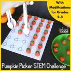 Thanksgiving STEM Challenge: Pumpkin Picker