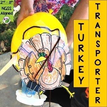 Thanksgiving STEM Challenge: Turkey Transporter