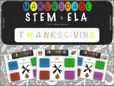 Thanksgiving - STEM / ELA Challenge Explorations