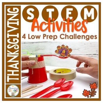 Thanksgiving November STEM Engineering Challenges