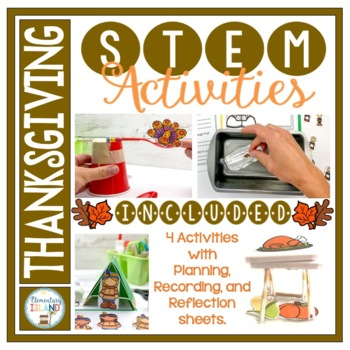 Thanksgiving November STEM Engineering Challenges
