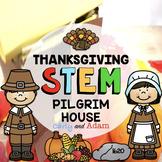Build a Pilgrim House First Thanksgiving STEM Activity