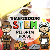 Build a Pilgrim House First Thanksgiving STEM Activity