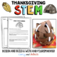 Thanksgiving STEM/STEAM Activity: Build a Pilgrim House and Wetu BUNDLE