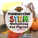 Pilgrims and Wampanoags First Thanksgiving STEM Activities BUNDLE