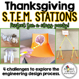 Thanksgiving STEM Stations