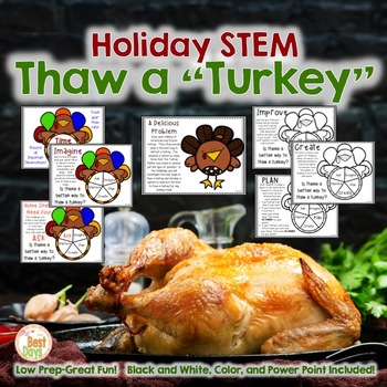 Christmas STEM:  Turkey Thaw-No Real Turkeys Needed!