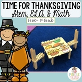 Thanksgiving STEM, Writing Prompts, Crafts, Labeling, Word Wall, & More!