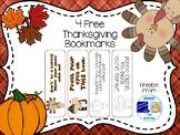 4 Free Thanksgiving Bookmarks