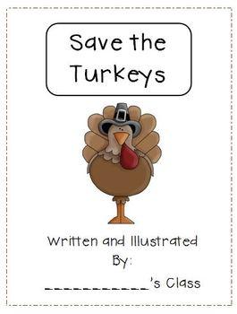 Thanksgiving: Save the Turkeys Freebie