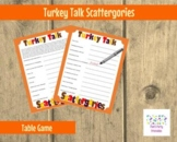Thanksgiving Scattergories- Printable Game -  Thanksgiving Game -  Party Game