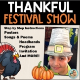 School Plays for Children - Thanksgiving Activities