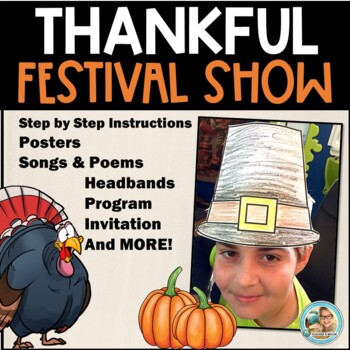 School Plays for Children - Thanksgiving Activities  -  Mu