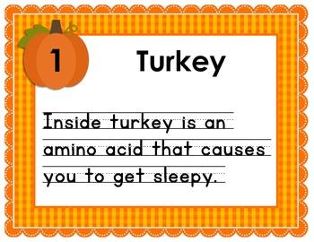 Thanksgiving Science Hunt