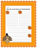 Thanksgiving Science Hunt