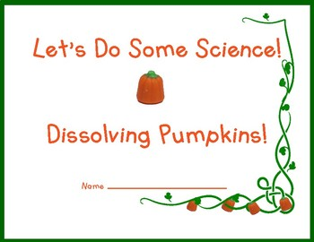 Thanksgiving Science: Two Fun Experiments!