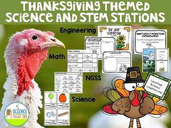 Thanksgiving Science and STEM Stations