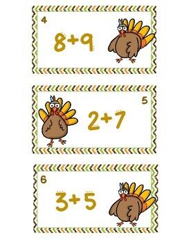 Thanksgiving Scoot - Turkey Addition