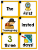 Thanksgiving Scrambled Sentences Center