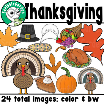 Thanksgiving Seasonal ClipArt