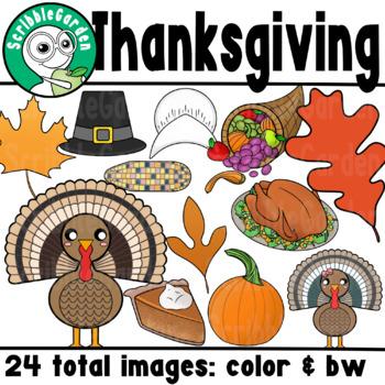 Thanksgiving Seasonal ClipArt