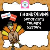 Thanksgiving Secondary Reward System for GoGoKid, VIPKid,