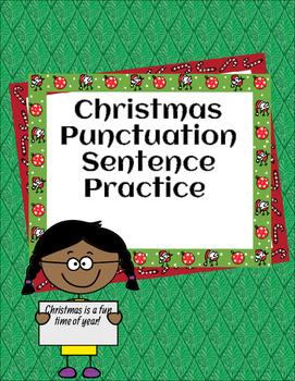 Christmas Punctuation Practice