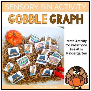 Thanksgiving Sensory Bin Activity {FREEBIE}