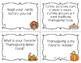 Thanksgiving Sentence Types Task Cards (For BIG KIDS!)
