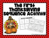 The First Thanksgiving Sequence Activity