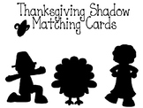 Thanksgiving Shadow match cards