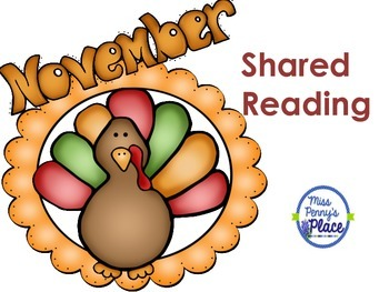 Thanksgiving Shared Reading
