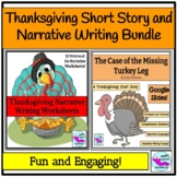 Thanksgiving Short Story and Narrative Prompts Digital