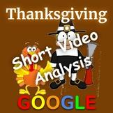 Thanksgiving Short Video Analysis: Google Form
