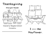 Thanksgiving Sight Word Emergent Reader
