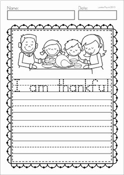 Thanksgiving Sight Word Fluency Flip Books