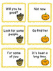 Thanksgiving Sight Word Phrase Game Set One