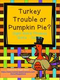 Thanksgiving Sight Word Phrase Game Set One