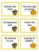 Thanksgiving Sight Word Phrase Game Set Three