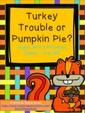 Thanksgiving Sight Word Phrase Game Set Two